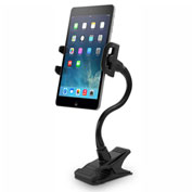Macally Adjustable Clip-On Mount Holder for Tablets & Smartphones