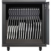Macally 15-Rack Charge & Sync Station For iPads & Tablets, Black