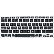 Macally Protective Keyboard Cover for Mac & MacBook Keyboards, Black