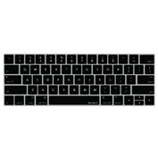 "Macally Keyboard Protective Overlay for 13"" & 15"" MacBook Pro with Touch Bar, Black"