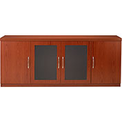 Mayline® Aberdeen Series Low Wall Credenza Cherry