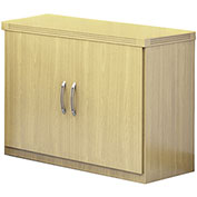 Mayline® Aberdeen Series Storage Cabinet Maple