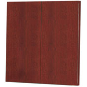 Mayline® Brighton Series Visual Presentation Board Cherry
