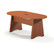 Mayline® Brighton Series 6' Conference Table Cherry