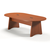 Mayline® Brighton Series 8' Conference Table Cherry