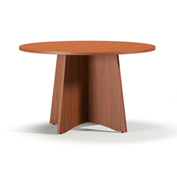 "Mayline® 48"" Round Conference Table Cherry - Brighton Series"