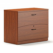Mayline® Brighton Series Freestanding Lateral File Cherry