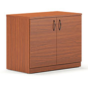 Mayline® Brighton Series Storage Cabinet Cherry
