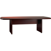 Mayline® Luminary Series 6' Convex Conference Table Cherry