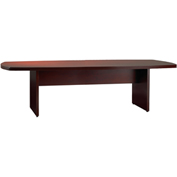 Mayline® Luminary Series Convex Conference Table Cherry