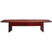 Mayline® Corsica Series 10' Boat-Shaped Conference Table Sierra Cherry