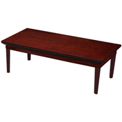 "Mayline® Coffee Table - 48"" - Sierra Cherry - Corsica Series"