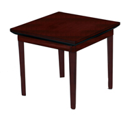 Mayline® Corsica Series Occasional Table End Table Veneer Sierra Cherry