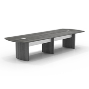 Mayline® 14' Conference Table - Gray Steel - Medina Series