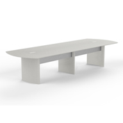 Mayline® 14' Conference Table - Textured Sea Salt - Medina Series