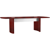 Mayline® Medina 8' Conference Table Mahogany