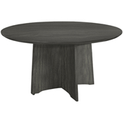 "Mayline® 48"" Round Conference Table - Gray Steel - Medina Series"