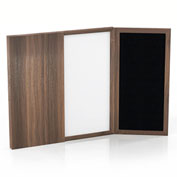 Mayline® Medina Series Presentation Board Textured Brown Sugar
