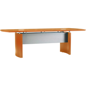 Mayline® Napoli Series 10' Conference Table Golden Cherry