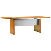 Mayline® Napoli Series 6' Conference Table Golden Cherry
