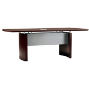 Mayline® 6' Conference Table - Mahogany - Napoli Series
