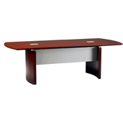 Mayline® Napoli Series 8' Conference Table Sierra Cherry