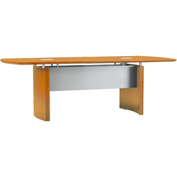 Mayline® Napoli Series 8' Conference Table Golden Cherry