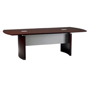 Mayline® Napoli Series 8' Conference Table Mahogany