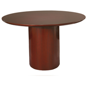 "Mayline® 48"" Round Conference Table - Sierra Cherry - Napoli Series"