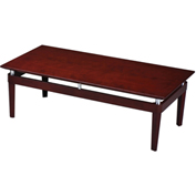 Mayline® Napoli Series Occasional Table Coffee Table Veneer Sierra Cherry
