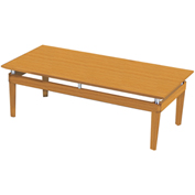 "Mayline® Coffee Table - 48"" - Golden Cherry - Napoli Series"