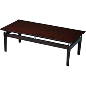 Mayline® Napoli Series Occasional Table Coffee Table Veneer Mahogany
