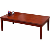 "Mayline® Coffee Table - 48"" - Cherry - Luminary Series"