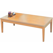 "Mayline® Coffee Table - 48"" - Maple - Luminary Series"