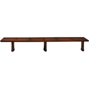Mayline® Sorrento Series 18' Rectangular Conference Table Bourbon Cherry