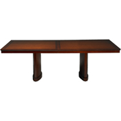 Mayline® 6' Rectangular Conference Table - Bourbon Cherry - Sorrento Series