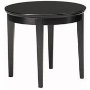 "Mayline® Reception End Table - 24"" Round - Espresso - Sorrento Series"