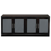 Mayline® Sorrento Series Low Wall Cabinet Espresso