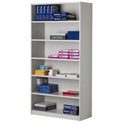 Mayline® Mailflow-To-Go Systems Bulk Storage Cabinet with 5 Adjustable Shelves
