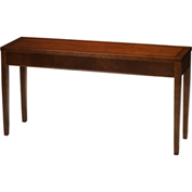 "Mayline® Reception Sofa Table - 60"" -  Bourbon Cherry - Sorrento Series"