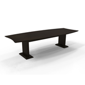 """Mayline® Sterling Series 120"""" Rectangle Conference Table Textured Mocha"""