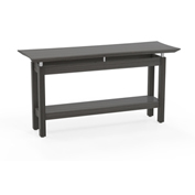 "Mayline® Sterling Series 58"" Rectangle Sofa Table Textured Driftwood"