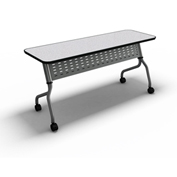 "Mayline® Training Table with Flip Top - 18"" x 60"" Anthracite - Sync Series"