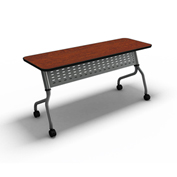 "Mayline® Training Table with Flip Top - 24"" X 60"" Folkstone - Sync Series"