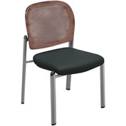 Mayline® Valoré Series Mesh Fabric Bistro Chair Red - 2 Pack