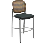 Mayline® Valoré Series Mesh Fabric Bistro Stool Orange - 2 Pack