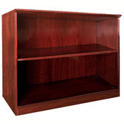 Mayline® Corsica Series 2 Shelf Bookcase Sierra Cherry