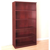 Mayline® Corsica Series 5 Shelf Bookcase Sierra Cherry