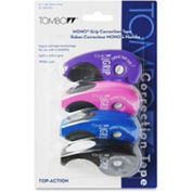 "Tombow® Grip Correction Tape Top Action 1/5"" x 394"" Assorted 4 Pack"