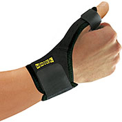 Uriel® AC28 Thumb Support, Black, One Size Fits All